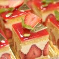 春のケーキ【フレジェの作り方】☆動画あり