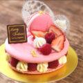 夢のお菓子【マカロンケーキの作り方】☆動画あり