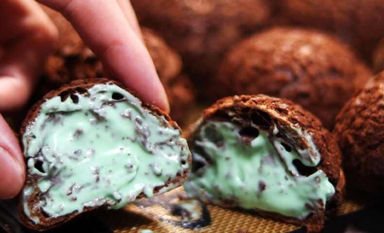 チョコミントシュー