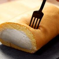 タピオカロールケーキ